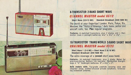 CHANNEL MASTER Radio, Television, Tape Recorder, Walkie Talkie and Interphone Brochure (USA 1961)_16