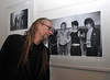 Artist Guggi U2 Manager Paul McGuinness officially opened the photography exhibition U2:1978