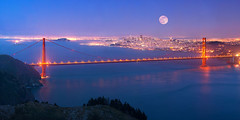 San Francisco Super Moon (Stephen Oachs (ApertureAcademy.com)) Tags: sanfrancisco bridge moonrise goldengate stephenoachs supermoon