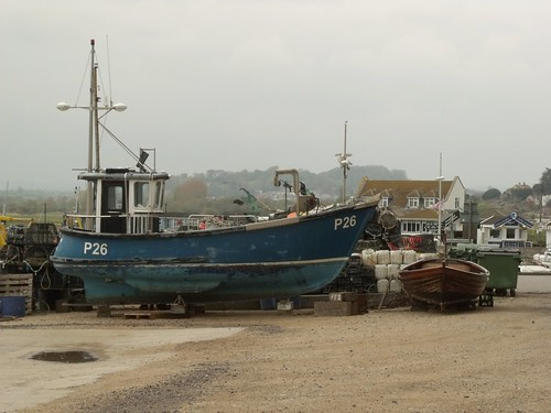 West Bay - East Beach - boat - P26