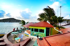 Happppppy Island (*:.MaLcOlmLaNg.:*) Tags: trees sunset cactus sun holiday green bird beach st coral cat private island happy lights pier boat amazing nikon long exposure paradise kayak fuji eating reptile turquoise pano union vincent dream royal panoramic palm canoe tokina cocktail trail iguana sail fujifilm pepsi grenadines resturant nikkor frigate 18200 rasta conch x1 x10 hobbie x100 1116 vr2 d7000