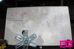 Moana Nui A Kiwa Tribe's drawing plans (Colour Me Fiji) Tags: theroots southauckland freshgalleryotara 2012southaucklandpacificartssummit