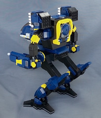 Timber Wolf Prime (Jeremy Devilbiss) Tags: lego mecha battletech madcat moc timberwolf battlemech omnimech