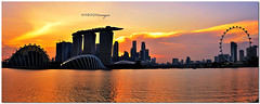 Panorama View @ Singapore Marina Bay Barrage_7257 (wsboon) Tags: city travel cruise light sunset sky holiday color tourism water architecture clouds composition buildings river relax corporate design photo google search flyer nikon singapore asia exposure cityscape view nocturnal skyscrapers heart perspective visit tourist calm explore photograph land destination serene cbd pimp nocturne dri singapura centralbusinessdistrict blending singaporeriver singaporecityscape masteratwork uniquelysingapore singaporecity peopleculture d700 singaporecruise singaporelandscape marinabaybarrage nocommentsimplyperfectsingaporeview