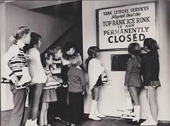 Brighton Ice Rink Closure (davids pix) Tags: ice 1971 brighton top iceskating centre skaters rink rank toprank closure