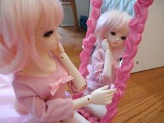 Mirror (sky-nymph) Tags: cherry doll 14 mini bjd asleep abjd ae msd balljointeddoll eidolon asleepeidolon