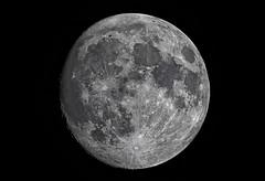 almost full moon (dtsortanidis) Tags: sky moon night photography map space luna full fullmoon craters greece telescope astrophotography frame atlas almost astronomy universe phase lunar meade acf dimitris patras marea patra lx200 dimitrios reducer   tsortanidis 10canon5dmarkmkiifull