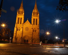 St Peter's Cathedral (Thielzy) Tags: church st night cathedral peters