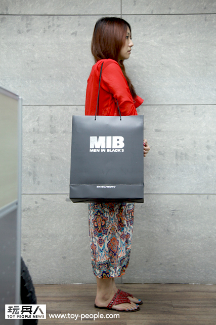 ENTERBAY 1/6 REAL MASTERPIECE MIB 星際戰警3 開箱報告!