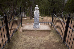 Doc Holiday's Memorial (Serrator) Tags: summer mill town colorado crystal ghost hike