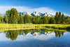 Blacktail Ponds (LonesomeLandscapes.com) Tags: mountain reflection bravo grandtetonnationalpark