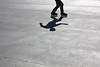 Rosario - Sombra rollera (l_ul_i) Tags: parque shadow men argentina sombra rosario roller deporte rollers cemento humano hombre patin patinar blackwhitephotos alisado