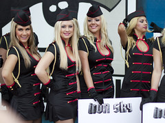 Iron Sky promo girls
