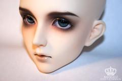 MD Jina (Meggilu) Tags: ball dark intense eyes doll bjd custom dollfie commission joint jina faceup meggilu migidoll