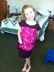 Oliver + S ice cream dress with Heath