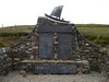 Delting Disaster Memorial (shirokazan) Tags: uk lumix cycling islands scotland memorial united kingdom panasonic cycle disaster touring shetland mainland pz vario mossbank bcq gx1 1442mm delting