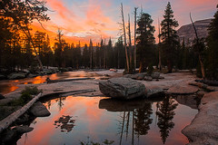 tuolumne_sunset_0503-05_hdr (atmosphoto) Tags: california sunset tuolumnemeadows lembertdome tuolumneriver yosemitenp specland reflectsobsessions
