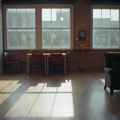 the second floor. (tumbleweed.in.eden) Tags: windows film lawrence downtown tea kodak bokeh hasselblad melly encore 500cm lovegarden signsoflife ektar100