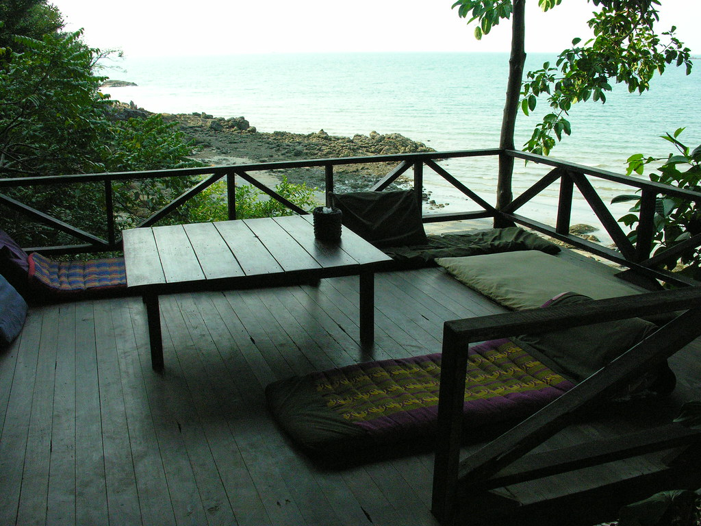 Lazy days on Ko Chang Noi, Ranong province, Southern Thailand