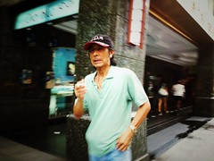 Smoker / iPhone (EthanChiang) Tags: street candid taiwan streetphotography taipei   mobilephoto iphone streetphotographer iphotooriginal taipeistreet mobilephotography burnmyeye taipeistreetphotography iphonephotography iphonography streettogs streettog ethanchiang iphonenogeaphy  iphotooriginal