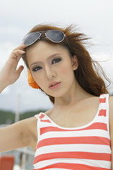 _DSC0465 (rickytanghkg) Tags: sea portrait woman sexy girl lady female asian hongkong boat model pretty outdoor chinese young
