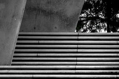 concrete (mahohn) Tags: bw abstract stairs concrete 32