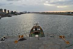 Haven Supporter (4) @ KGV Lock 09-08-16 (AJBC_1) Tags: royaldocks london havensupporter dlrblog ajc newham northwoolwich londonsroyaldocks londonboroughofnewham eastlondon docklands england unitedkingdom uk ship boat vessel marineengineering nikond3200 tug tugboat collinswateragelighterage gallionspoint pontoon stantug1205 damen damenshipyardsgroup williamsshipping wilcarry1711 kgvdock kinggeorgevdock londoncityairport
