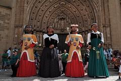 Procesion de San Lorenzo. Fiestas de San lorenzo 2016, Huesca. (oscarpuigdevall) Tags: sanlorenzo procesiondesanlorenzo fiestasdesanlorenzo momentoscofrades oscarpuigdevall huesca aragon espaa