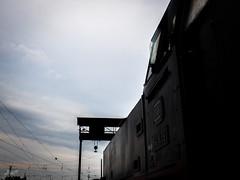 Eisenbahnromantik (-BigM-) Tags: germany baden wrttemberg bigm olympus omd schorndorf bahnhof railway station eisenbahn old oldtimer baureihe 64 deutschland maschinen fabrik esslingen es