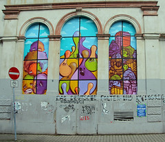 Collabo-Ghosts. (universaldilletant) Tags: frankfurt streetart spot cityghost cityghosts ghost ghosts 5stars pyc