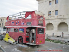 2015 1011 07 AEC ROUTEMASTER BUS RAS211 RM87 CONNECTIONS WITH PUTNEY IN SYRACUSE (Andrew Reynolds transport view) Tags: streetcar transport mass transit urban rural bus coach diesel passenger omnibus europe italy sicily 2015 1011 07 aec routemaster ras211 rm87 connections with putney in syracuse