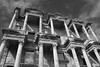 Library of Celsus, Ephesus (Alice 2017) Tags: 土耳其 turkey 2011 sigma1770mm sigma history architecture building canon eos sky blackwhite bw cloudy clouds eos7d travel favorites30 ngc autofocus favorites100 aatvl01 2000views 3000v120f 3000views aatvl02 aatvl03 favorites150