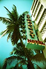 Miami Beach (dobranch) Tags: miami crossprocessed uws film