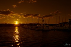 Sunset was a fizzer but I saved this one by pushing the shadows (core_personal_training) Tags: gosford newsouthwales australia au centralcoast water sea harbour boat yacht ship marine sun sunrise sunset sky cloud clouds landscape nature dslr nikon nikond3300 nikkor1855