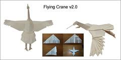 Flying Crane v2.0 (Mdanger217) Tags: max danger origami flying crane book