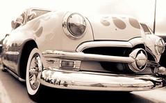 Ford Custom Flames (Austin Underwood) Tags: car ford flames sepiatone perspective pov custom hotrod automotive 1950s