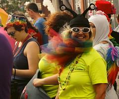 Pride Day, 2016, Ottawa, Ontario (chasdobie) Tags: ottawa ontario canada prideday parade nikon people outdoor spectator gay lesbian dyke laugh costume