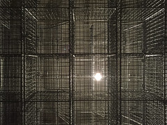 Light Sentence Detail 1992, Mona Hatoum (jonnydredge) Tags: mona hatoum art installations conceptual political