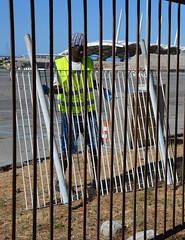 Kennedy29 (Genova citt digitale) Tags: richiedenti asilo genova piazzale kennedy agosto 2016 volontari nigeria lavoro ilva
