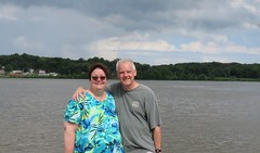 Rolling on the River (JJP in CRW) Tags: iowa leclaire mississippiriver geibfest
