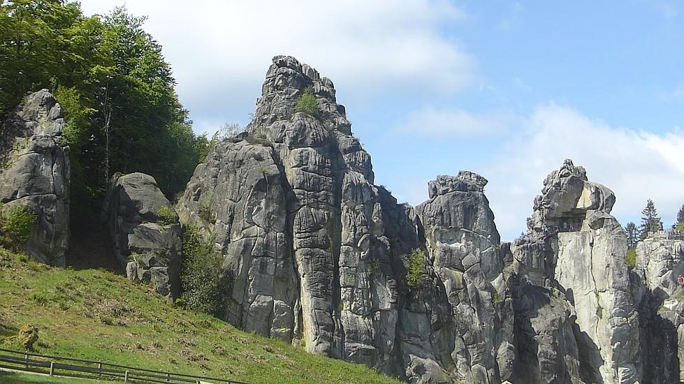 Wanderung  Silberbachtal - Velmerstot – Externsteine