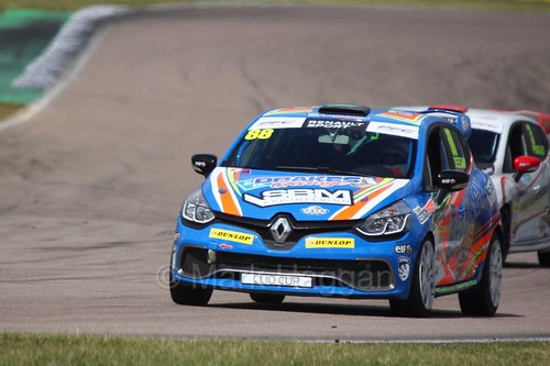 Shayne Deegan in the Clio Cup at Rockingham, August 2016