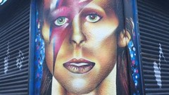 David Bowie (codedtestament777) Tags: citysights5 graffiti art beautiful love life design surreal text bright sign painting writing nature crazy weird fabulous environment cartoon animation outdoor street photo border photoborder illustration collection portrait face expression character people music songs pop electronic experimental rock glamrock glam artrock