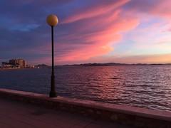 La Manga Spain sunset (Glazunov Andrey) Tags: violet pink sunset espaa spain lamanga