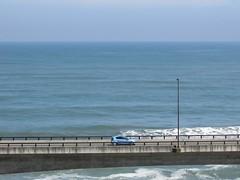 Niigata/Ibaraki '16 #26 (tt64jp) Tags: 日本 茨城 日立 日立駅 japan japon ibaraki hitachi hitachistation 日立バイパス hitachibypass バイパス bypass 太平洋 pasificocean 海 ocean sea 青 blue 일본 japanese 水平線 horizon