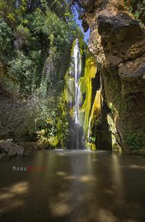 Cascada de Pradonegro, Sierra de Huétor, Granada.