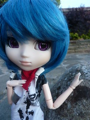 Zell (.PoisonedDeath.) Tags: rechipped ayanami rei ayanamirei pullip jun planning groove evangelion zell doll obitsu