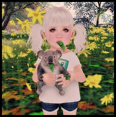 Gamers Koala Edition (delisadventures) Tags: secondlife secondlifefashion second secondlifefashionblog secondlifeblog seconlifefashion selfie senpai fashion fashino asian fashin fashions fashionblog fasf slfashion slfashionblog slfashions slfashionblogger slfashin slfashino babyfashion urbanfashion gamer nerd cute koala wild nature daisies toddleedoo toddle tiny trinkets tinytrinkets toddleedoos toddler toddleddoo td top shorts jungle bosque adorable baby babies leaves anime barberyumyum junk food color me
