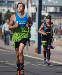 Purbeck Marathon, Swanage. (rickfrancis105) Tags: purbeck16 perbeckmarathon perbeck26 swanage dorset jogging