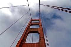 Golden Gate (DROSAN DEM) Tags: golden gate san francisco puente bridge travel cielo azul sky blue nubes clouds